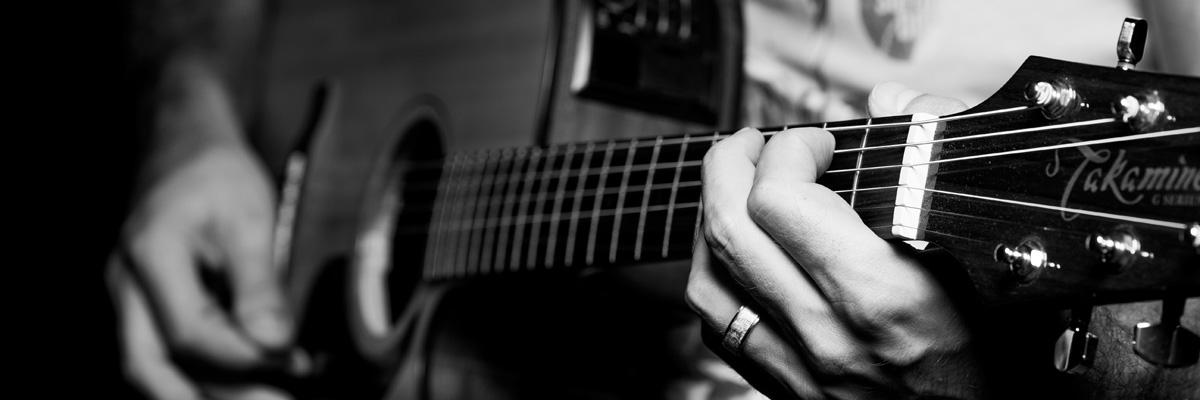 Slider Hintergrund Gitarre